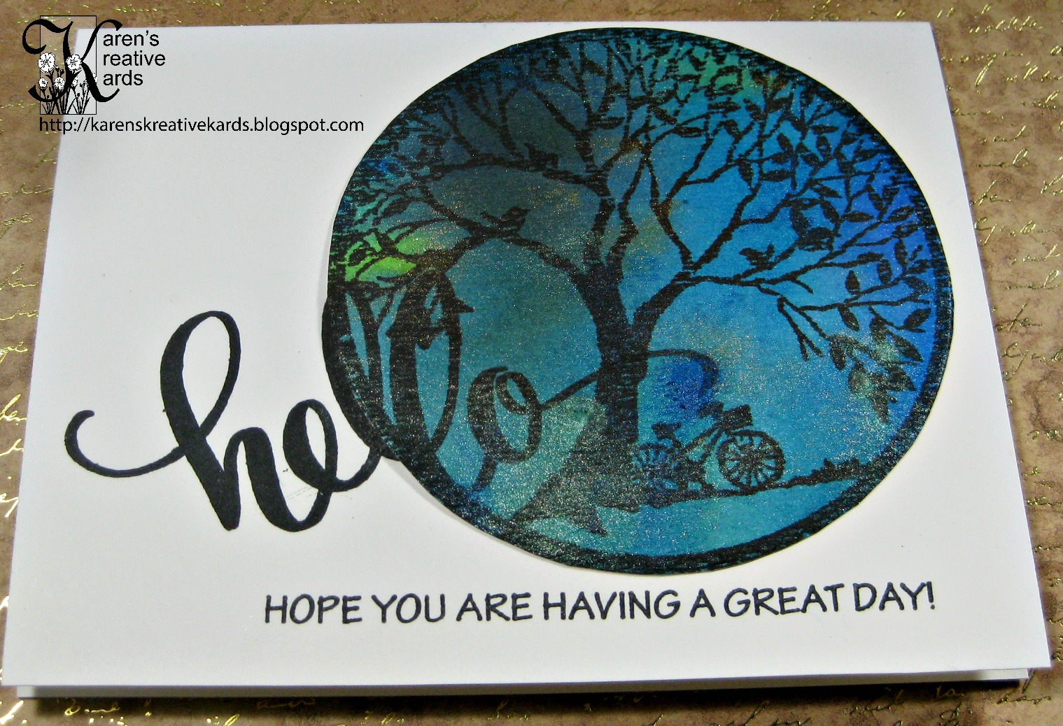 Karen\'s Kreative Kards: Stampendous Sentiment Stamps as the Focus of ...
