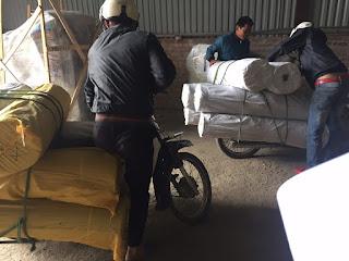 thảm cuộn lót sàn cao su