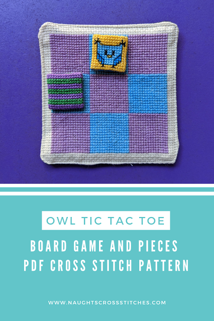 Owl Tic Tac Toe Board Game