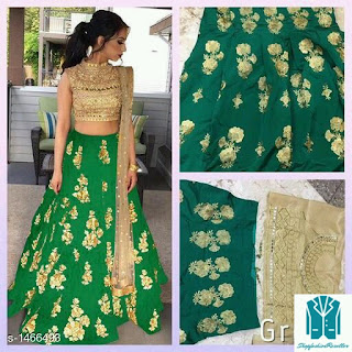 Hrishita Ravishing Tapeta Silk  Attractive Party Wear Lehenga