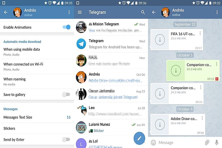 تحميل برنامج تليجرام Telegram للاندرويد