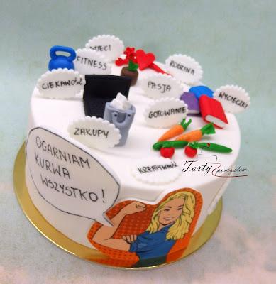 tort dla pracującej kobiety