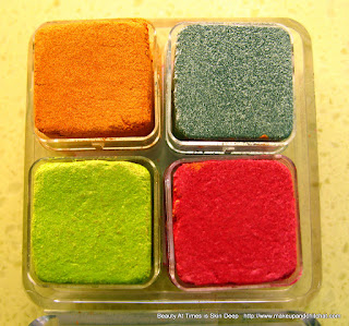 The Body Shop Shimmer Cubes Spring Collection Palettes 32