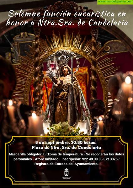 Tijarafe honrará a su Patrona, Ntra. Sra. de Candelaria, el 8 de septiembre con una misa solemne