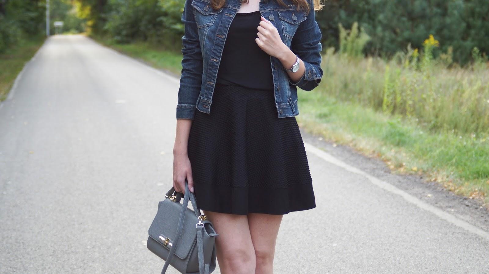 Lato wróć - kobieca stylizacja w czerni