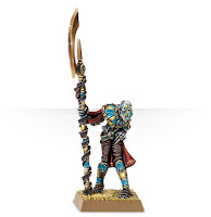 Wrhammer age of Sigmar tomb kings liche priest miniature painted