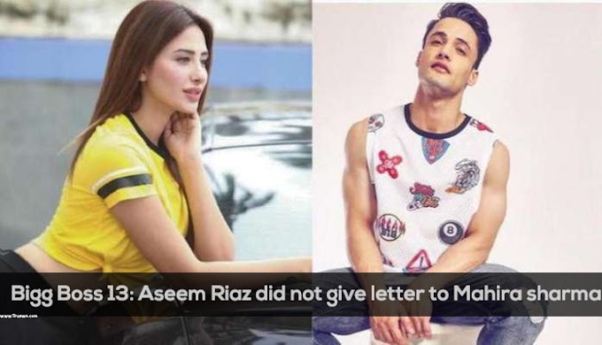 Bigg Boss 13: Aseem Riaz did not give letter to Mahira