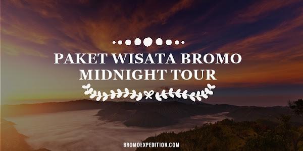 Paket Wisata Bromo Midnight Tour Sehari untuk Keluarga