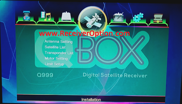 QBOX Q999 1507G 1G 8M NEW SOFTWARE WITH MR AUDIO & ECAST OPTION