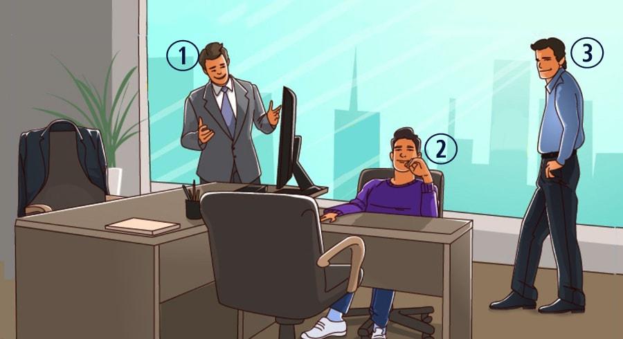 Test: Descubre quién es el jefe de la oficina