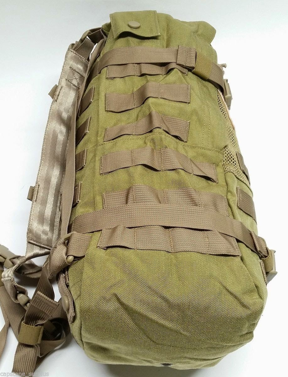 Webbingbabel: Eagle Industries PRC-117 Pack Bag Khaki