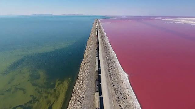 The Great Salt Lake, USA