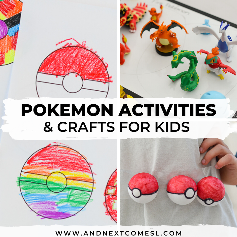 Pokemon activities