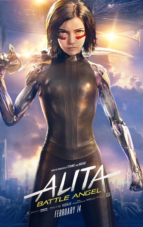 Alita Battle Angel movie poster