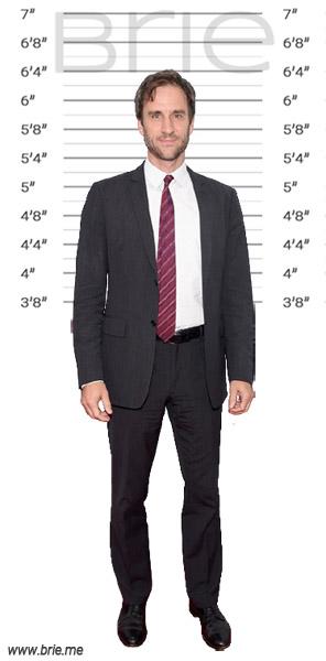 James Waterston height background