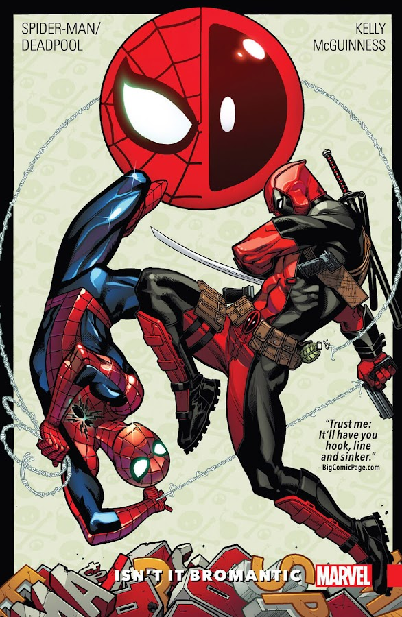 spider-man deadpool isn't it bromantic comics