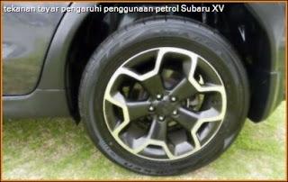 gambar tayar Subaru XV