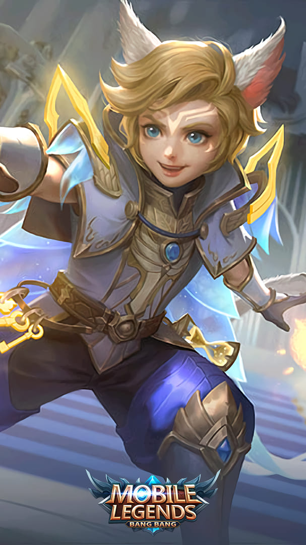 Wallpaper Harith Lightborn Inspirer Skin Mobile Legends HD for Android and iOS