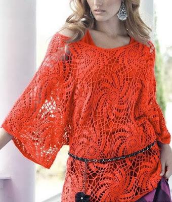 Crochet Pattern For Tunic