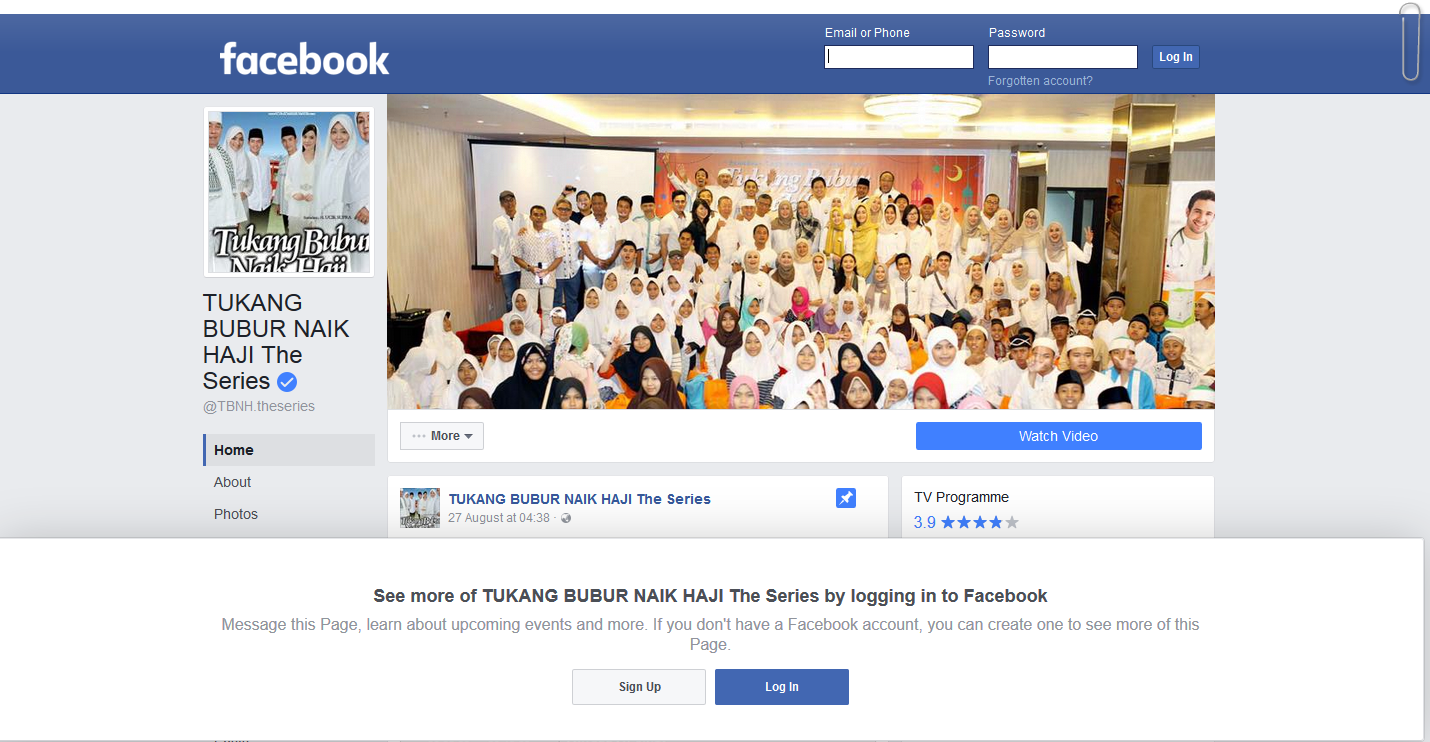 images for tukang bubur naik haji facebook