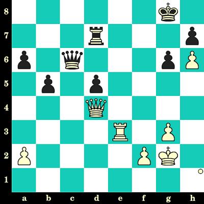 Les Blancs jouent et matent en 2 coups - Sergey Smagin vs Viktor Kupreichik, Minsk, 1985