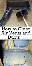 DIY heating and air conditioning duct and vent cleaning