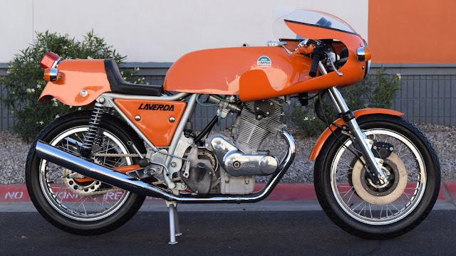 Laverda 750 SFC 1970s Italian classic sports motorbike