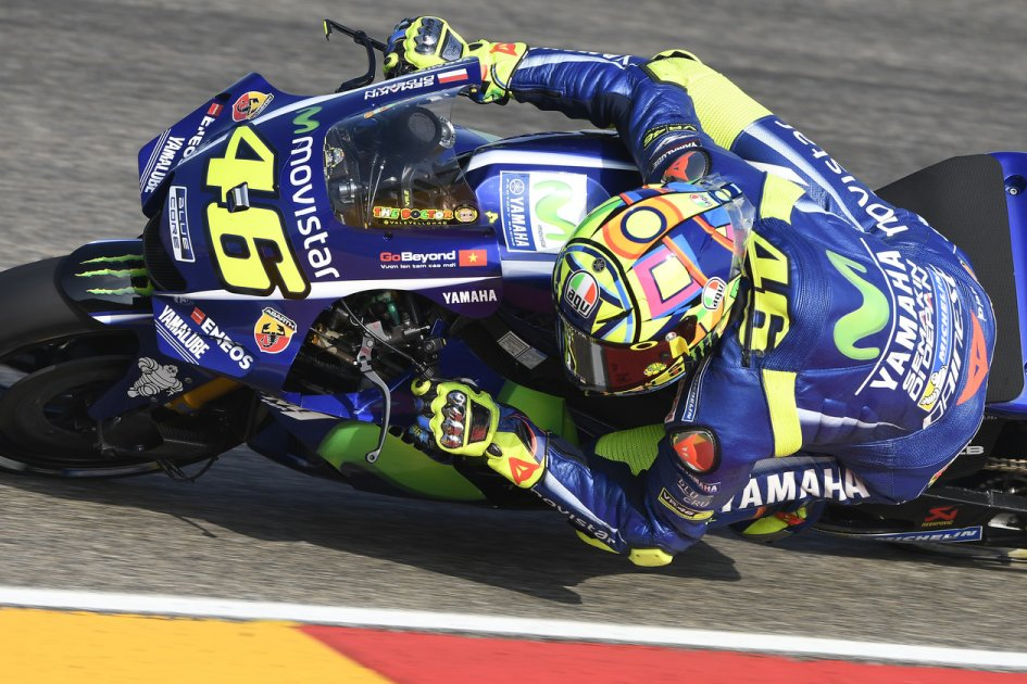 b2d896da9f7a5 Rossi used Brembo thumb pump at Aragon | Valentino Rossi Blog