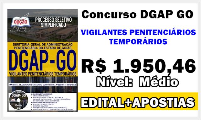 DGAP GO - VIGILANTES PENITENCIÁRIOS TEMPORÁRIOS