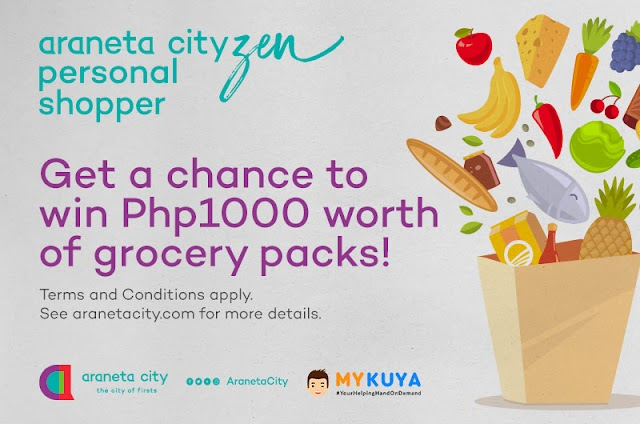 Shop remotely, get lucky with Araneta City-zen Personal Shopper promo