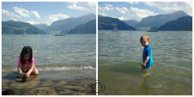 Swimming in Lucerne