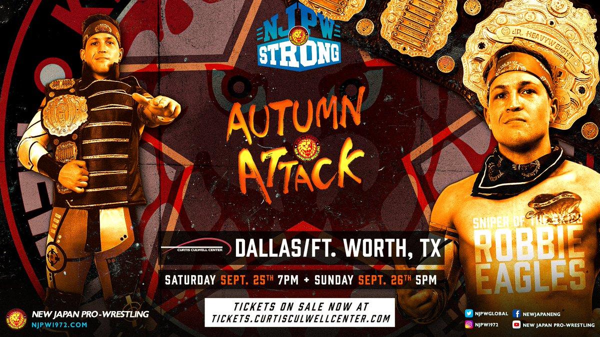 Robbie Eagles estará no NJPW STRONG Autumn Attack