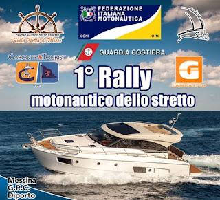 1° RALLY MOTONAUTICO NELLO STRETTO DI MESSINA