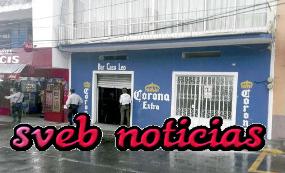 """Hombres armados atracan el Bar """"Casa Leo"""" y a sus clientes en Cordoba Veracruz"""