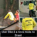 Uber Bike é a nova moda no Brasil