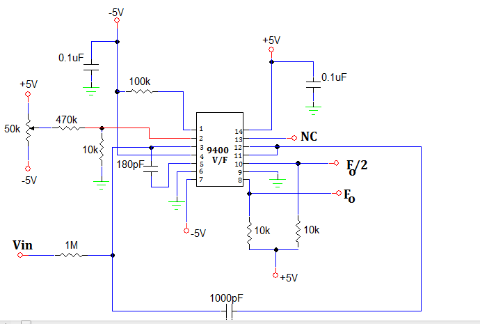 Voltage To Frequency Converter 9400