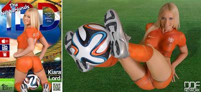 Kiara Lord - 1By-Day - World Cup Brazil 2014 - Jun 13, 2014