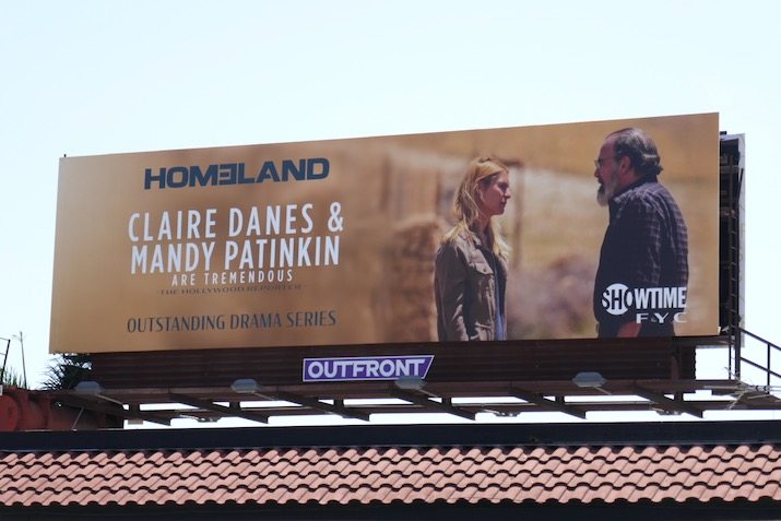 Homeland season 8 Emmy FYC billboard