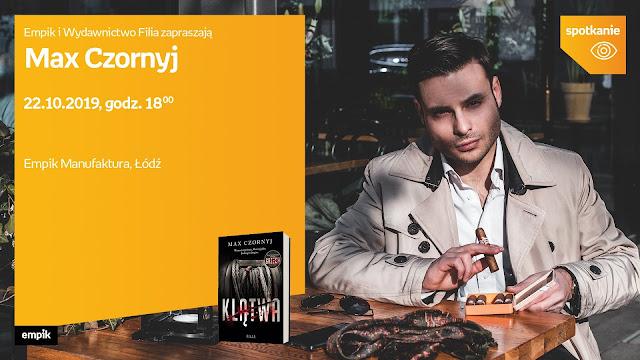Zapraszam na spotkanie autorskie z Maxem Czornyjem