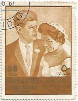 Selo União de Kennedy e Jacqueline