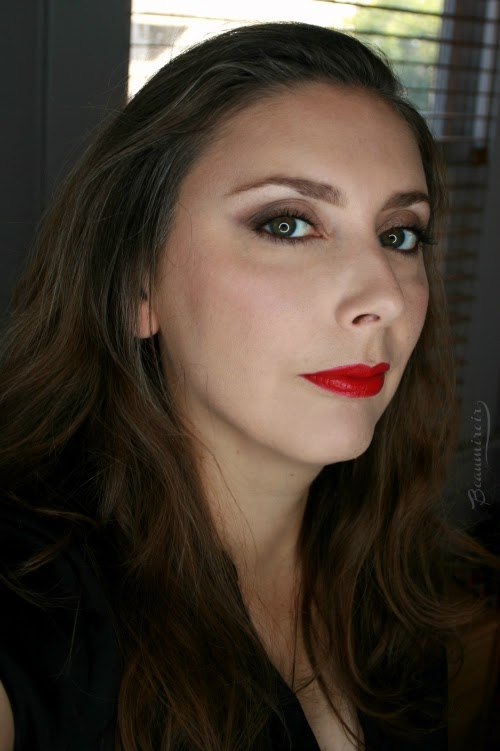 wearing intense garnet fotd motd