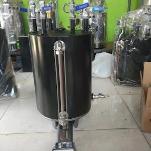 Setrika Uap Boiler Gas Anamoto 15 Liter Non Casing Setara Nagamoto