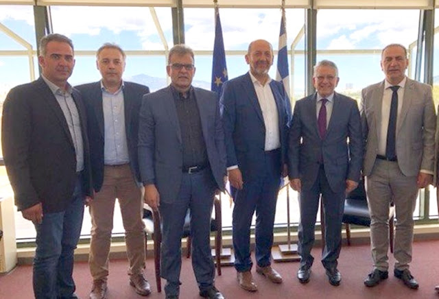 Συνάντηση του Περιφερειακού Επιμελητηριακού Συμβουλίου Πελοποννήσου με τον Υφ. Περιβάλλοντος και Ενέργειας
