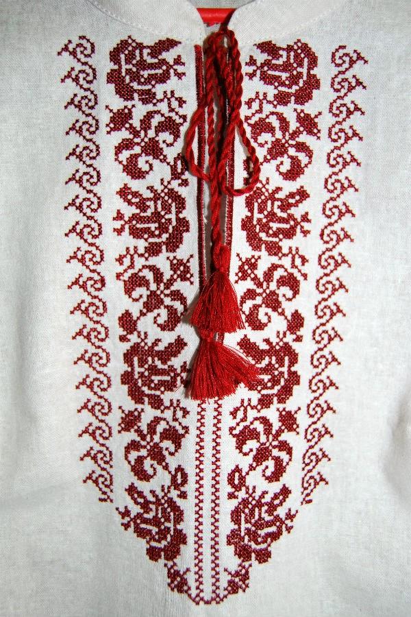 Украинский орнамент крестом