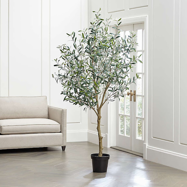 ARTIFICIAL OLIVE TREE | CRATE AND BARREL