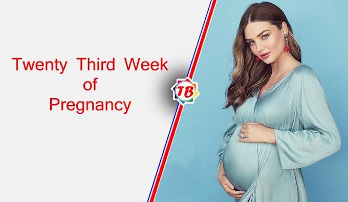 Twenty Third Week of Pregnancy - What are the symptoms of 23rd week of pregnancy