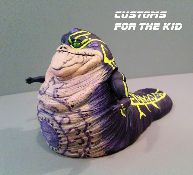 """Deal With The Hutt: Star Wars: Customs For The Kid: MAKING """"ZIRO THE HUTT"""