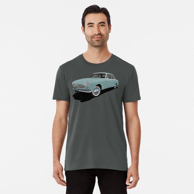 Peugeot 404 Coupé T-shirts