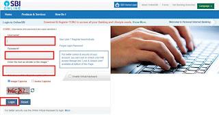 sbi online mobile number registration