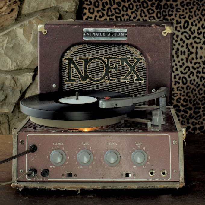 "NOFX announce new album ""Single Album"" stream new song ""Linewleum"""